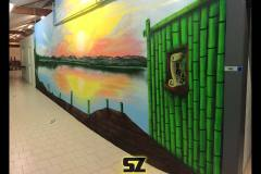 Graffiti-professionnel-suoz-customsz-décor-paysage-graff-street-art-sunset-coucher-de-soleil-rochefort-la-rochelle-poitou-charentes-France