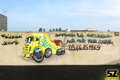 Graffiti-professionel-graffeur-artiste-street-art-la-rochelle-camion-scania-caricature-niort-saintes-bordeaux-rochefort-charentes-maritimes