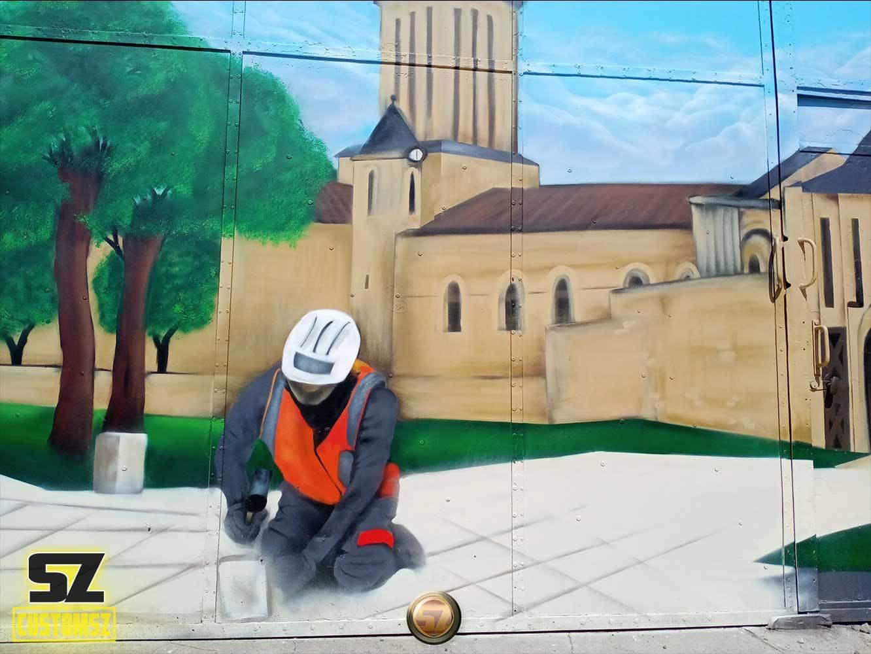 graffeur-professionnel-artisan-graffeur-decoration-mural-mur-paysage-arbre-ville-Surgeres-France-bordeaux-biarritz-la-rochelle-suoz