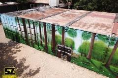 graffiti-decoration-suoz-nature-conteneur-artiste-street-art-trompe-loeil-Millau-parc-de-loisirs-des-Bouscaillous-midi-pyrénées-france-graff