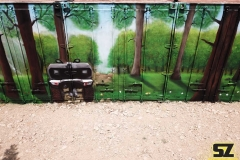 graffiti-decoration-suoz-nature-conteneur-artiste-street-art-trompe-loeil-Millau-parc-de-loisirs-des-Bouscaillous-midi-pyrénées-france