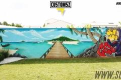 Graffiti-decoration-Suoz-plage-mer-décor-paysage-street-art-la-rochelle-Niort-charente-maritime