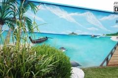Graffiti-decoration-customsz-Suoz-plage-mer-lagon-thailand-paysage-street-art-la-rochelle-Niort-charente-maritime