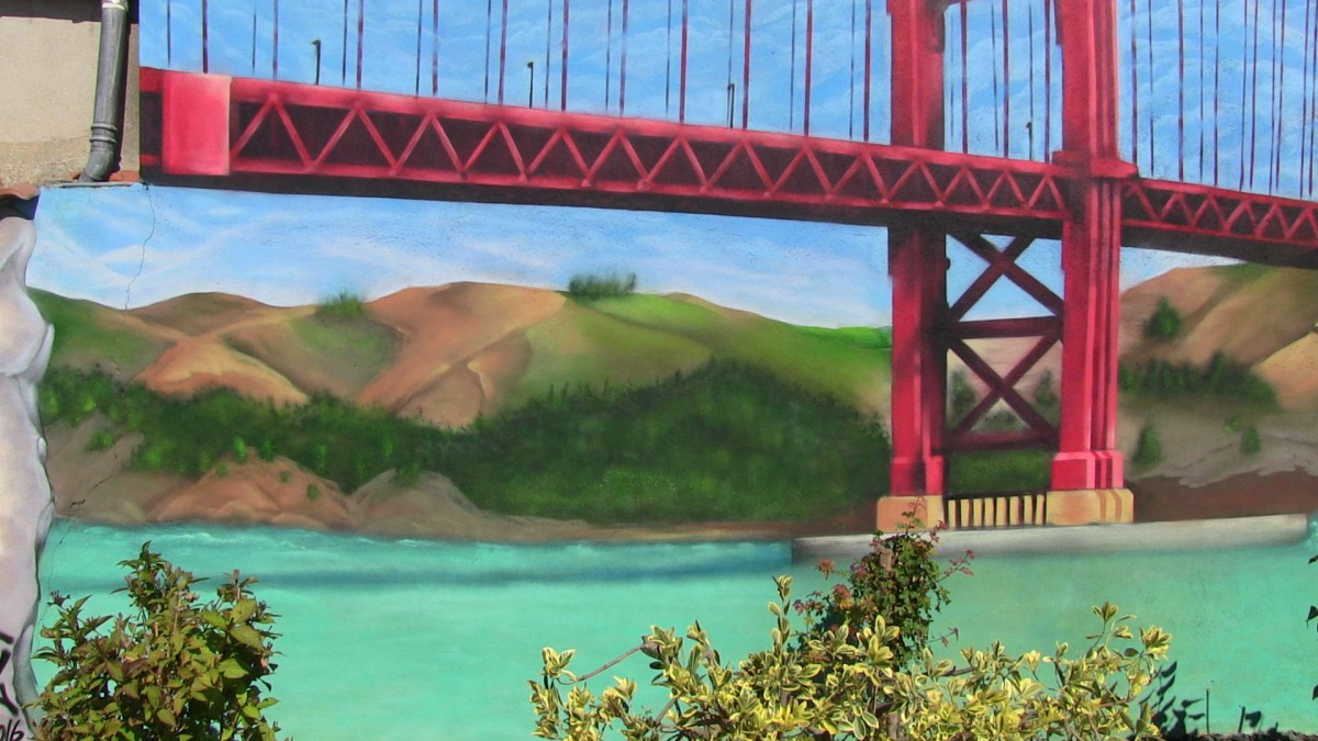 Suoz - Golden Bridge San Francisco - La Rochelle - 2016