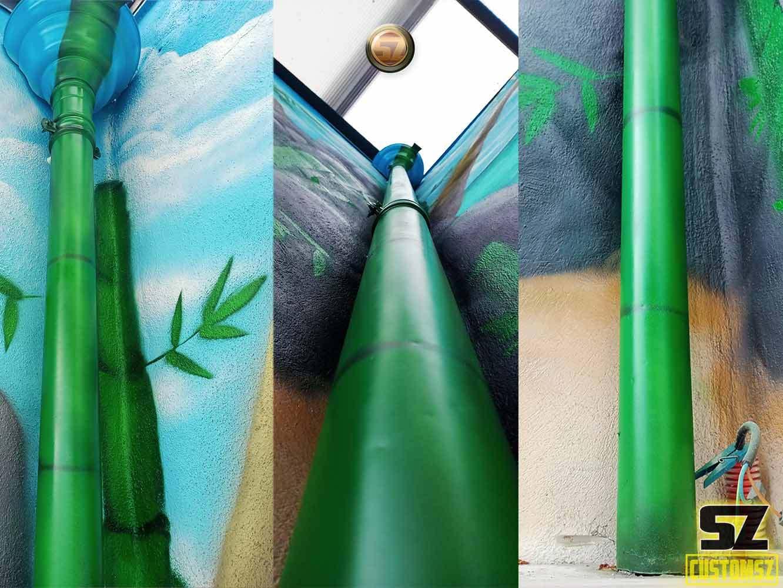 graffeur-professionnel-bambouplage-tropique-lagon-paysage-trompe-loeil-suoz-customsz-SZ