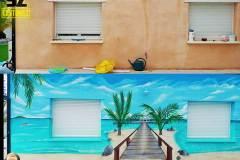 graffeur-professionnel-avant-apres-trompe-loeil-plage-paradisiaque-france-google