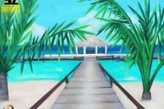 graffeur-professionnel-plage-tropique-lagon-paysage-trompe-loeil-suoz-customsz-SZ-cannes-nice-bordeaux-la-rochelle-paris-aquitaine-region-paca