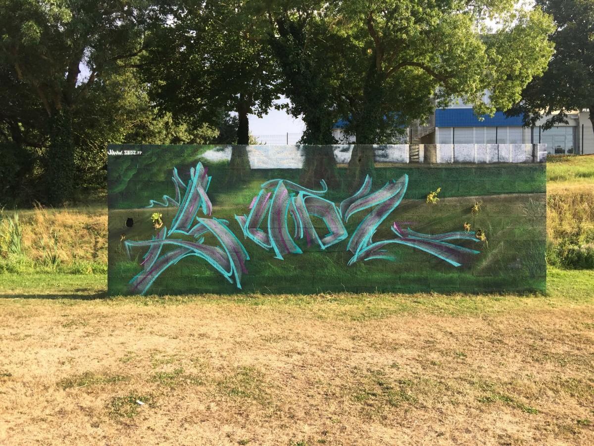 Grapheur professionnel décoration cours de Graffiti France Charentes maritime