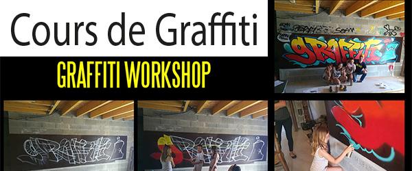 Cours de graffiti la Rochelle Graffeur professionnel - Décoration street art