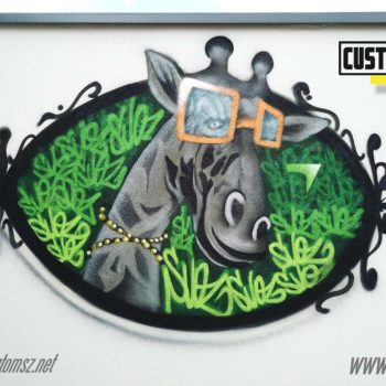 Graffiti décoration