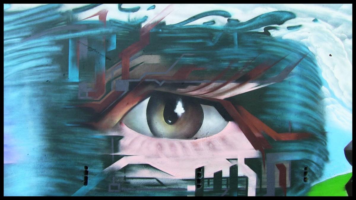 Visage-Oeil-graphique-suoz-deco-graffiti-Open-Mind-Ep1-S1