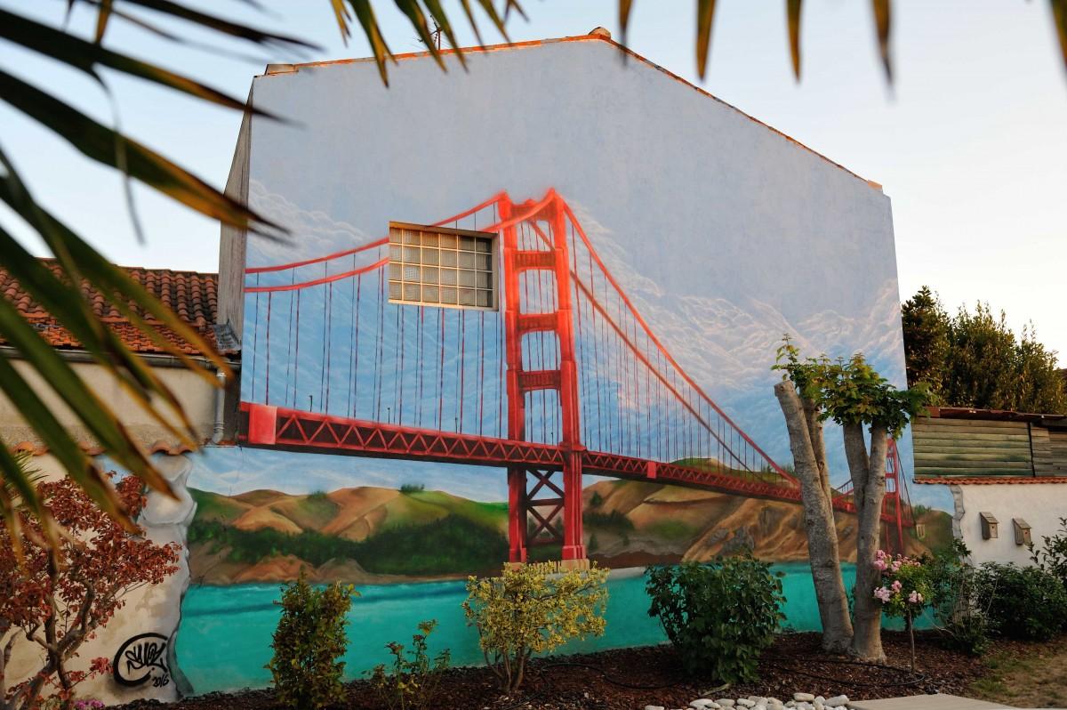 Déco Graff Pro Golden Gate bridge - la Rochelle